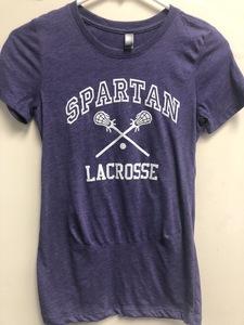 Next Level Ladies' Boyfriend T-Shirt- Gillter Lacrosse